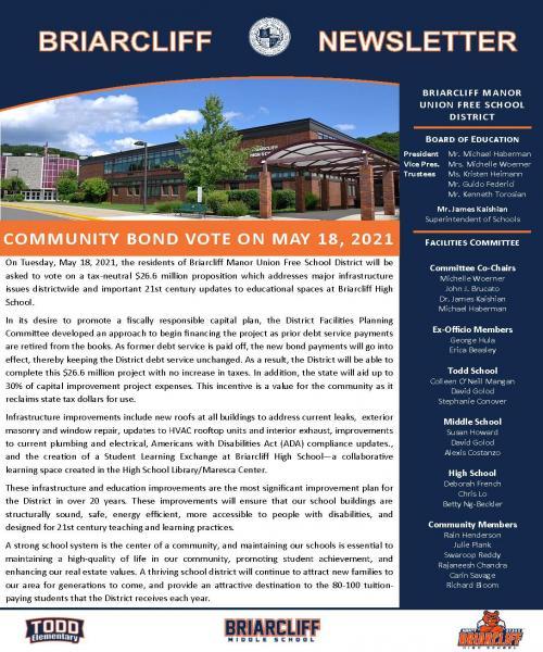 BMSD School Vote