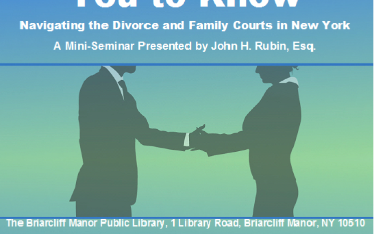 Navigating Divorce & Family Courts in NY