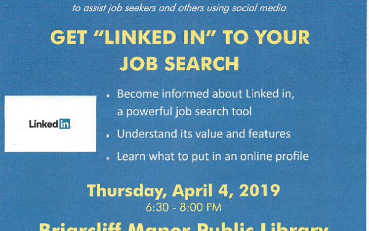 Get Linked In to Your Job Search